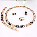 Buy Gold-plated classic romantic heart line(Including Necklace, Earring, Bracelet, Ring) Jewelry Sets