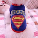 Dog / Cat Costume / Shirt / T-Shirt Blue / Yellow / Gray Summer Letter & Number Wedding / Cosplay
