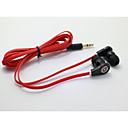 classic 1.0 kuulokeliitäntä 3.5mm korvalla 100cm iphone / samsung / Huawei / hirssi / punainen riisi / htc (valikoituja väri)