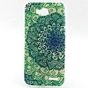 Buy Green Flowers Pattern TPU Material Soft Phone Case LG L90 D405