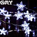 GMY estrella de Navidad luz de la secuencia del alambre de cobre de luz