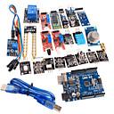20 in 1 Sensor Module Kit and Improved Version UNO R3 ATMEGA328P Board Module for Arduino
