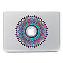 cirkulære blomst 25 dekorative hud sticker til MacBook Air / pro / pro med retina display