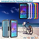 Note 5 Waterproof Clear Back Cover For Samsung Galaxy Note5 Hard Soft Case Simple Transparent