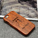 Buy Wood ONE PIECE Anime Pirates Hard Back Cover iPhone 6 Plus