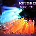 King Ro 5 M 20 5730 SMD 웜 화이트 / 화이트 / RGB / 레드 / 블루 / 그린 방수 / 컷테이블 / 리모컨 / 밝기조절가능 / 충전가능 / 연결가능 / 자동차에 적합 / 접착성이 있는 / 색상-변화 1.5 W 스트링 조명