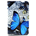 Buy Samsung Galaxy Case Card Holder / Stand Flip Pattern Full Body Butterfly PU Leather SamsungTab 4 10.1 Tab 7.0