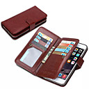 DE JI Wallet PU Leather Case For iPhone 6 With 9 Card Slot (Assorted Colors)