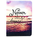 Buy Samsung Galaxy Case Card Holder / Stand Flip Pattern Full Body Scenery PU Leather SamsungTab 4 10.1 Tab 7.0