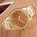 Women's Fashion Circular  Alloy  Quartz Watch(Assorted Colors)