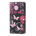 Buy Butterfly Flowers PU Magnetic Leather wallet Flip Stand Case cover Huawei Honor 4A / Y6