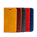 Buy 2015 New Grid Pattern Flip PU Leather Cover iPhone 5/5S(Assorted Colors)