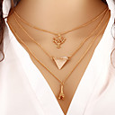 Buy Women Necklace European Style Tree Eiffel Tower Layered Chain