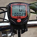Ciclismo Mini Waterproof Calorias velocímetro Preto Computer Odômetro
