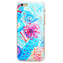 Buy Oil Painting Flower Pattern Transparent PC Back Cover iPhone 6 Plus