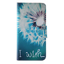 Buy iPhone 7 Plus White Dandelion Painted PU Phone Case 6s 6 SE 5s 5c 5 4s 4