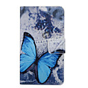 Buy Wiko Case Card Holder / Wallet Stand Flip Pattern Full Body Butterfly Hard PU Leather