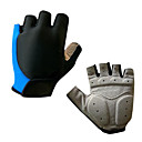 Cycling Gloves Fingerless Breathable Silicone Gel Cushioning Half Finger Gloves