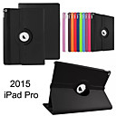 360 Degree Rotating Stand PU Leather Auto Sleep and Wake Up Case Cover for iPad Pro (Assorted Colors)