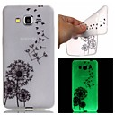 Buy Samsung Galaxy Case Glow Dark / Pattern Back Cover Dandelion TPU SamsungJ3 J1 Ace Grand Prime Neo Core