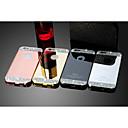 luxury timantti peili ohut metalli suojaava takakannen iPhone 6 / 6s 4.7inch