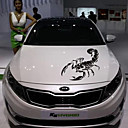 Buy 30cm Cute 3D Scorpion Car Stickers Styling Vinyl Decal Sticker Acessories Decoration