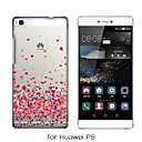 MAYCARI®Paved with Love Soft Transparent TPU Back Case for Huawei P7/P8