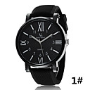 Buy V6 Watch Men Europe America Fashionable Roman Numeral Silicone Strap Luxury Watches Wrist Cool Unique