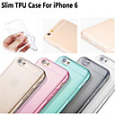 Hot Selling Ultra Thin Style Soft Flexible Transparent  TPU Case for iPhone 6/6S 4.7