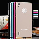 BIG D Ultra Thin Aluminium Alloy Bumper with Back Case for Huawei P7(Assorted Color)