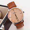 damesmode vintage lederen guartz horloge (verschillende kleuren)