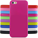 Solid Color Jelly Silicone Case Design Pattern For iPhone 5C (Assorted Colors)