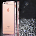 Buy iPhone 6 Case / Plus Rhinestone Plating Back Cover Solid Color Soft TPU 6s Plus/6 6s/6