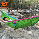 Buy SWIFT Outdoor® Double Camping Hammock Portable Parachute Travel Carabiners Nylon Rope
