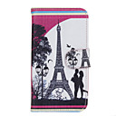 Buy Huawei Case Card Holder / Wallet Stand Full Body Eiffel Tower Hard PU Leather Y560