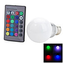 E27 5W RGB Remote Control RGB Light Color Change LED Bulb Lamp(85-265v)