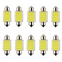 Buy 1Festoon 31mm 36mm 39mm 3W 240lm 6000K COB LED White Light Car Steering Bulb / Reading Lamp(DC12V)