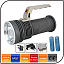Buy Lights LED Flashlights/Torch 1000 Lumens 3 Mode - 18650 Waterproof Rechargeable Impact ResistantCamping/Hiking/Caving Everyday Use