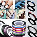 Buy Rolls Striping Tape Line Nail Sticker DIY Kit Art UV Gel Tips 1PC