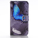 Buy Blue Butterfly Design PU Leather Full Body Cases Case Huawei P8 Lite