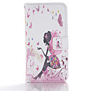 Buy Butterfly Elf Design PU Leather Full Body Cases Case Huawei P8 Lite