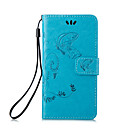 PU Leather Material Embossing Holster for iPhone 6 Plus (Assorted Colors)