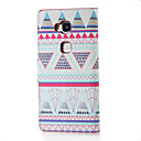 Buy Triangles Pattern Magnetic PU Leather wallet Flip Stand Case cover Huawei Honor 5X