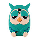 Buy Cute Owl Soft Silicone Phone Case Back Cover Samsung Galaxy S4 I9500