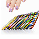 Buy 1Nail Striping Tape Metallic Yarn Line 3d Nail Art Tool Color Rolls Decals DIY Tips Sticker Decoration