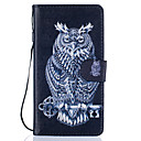 Buy Owl Pattern PU Leather Full Body Case Stand Huawei Ascend P9 Lite