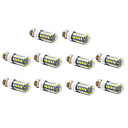 10 pcs E26/E27 12W 56 SMD 5730 1200 LM Warm White / Cool White LED Corn Lights AC 220-240 V
