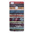 Buy Huawei Case / P9 Lite Pattern Back Cover Lines Waves Soft TPU