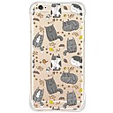 Buy Waterproof/Transparent Cartoon Cute Cat TPU&Silicone Soft Shockproof Case Cover iPhone 6s Plus/6 Plus/6s/6/SE/5s/5