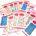 Buy 1Different Styles Big Size Elegant Packaging Water Transfer Printing Nail Stickers
